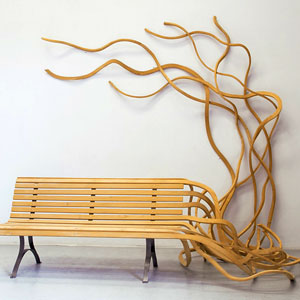 Patio Furniture Ideas: Outdoor Furniture - Garden Furniture - Design - Art - Bench - Pablo Reinoso