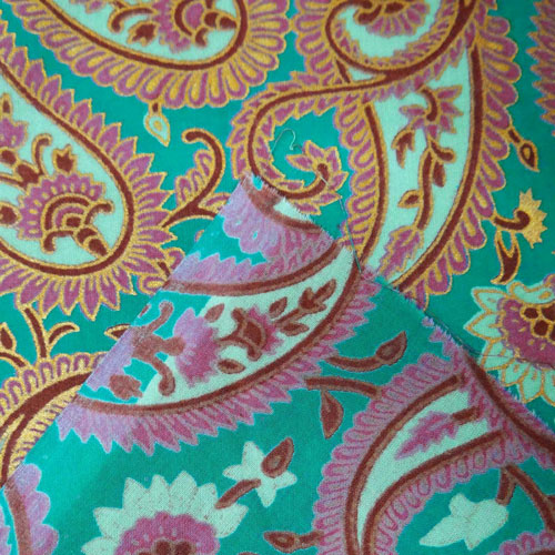 indian fabric, paisley