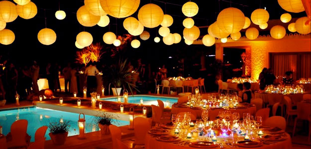 Outdoor Lanterns: Outdoor Lighting, Lanterns, Patio Party, Hanging, Paper  Lanterns
