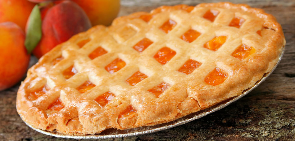 peach recipes, peach pie