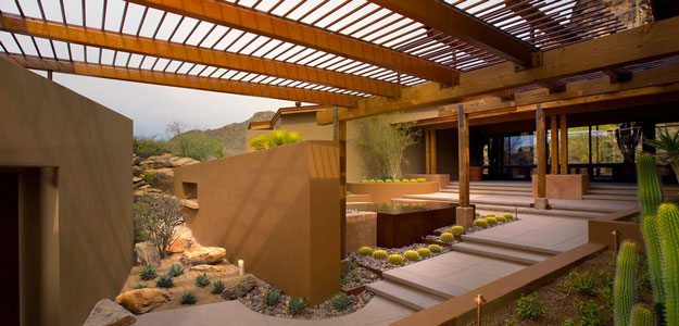 Pergola: Modern, Beauty, Practical, Backyard, Walkway, Gardens - Entrance - Phoenix, Arizona