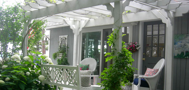 Pergola: Modern, Beauty, Practical, Backyard, Walkway, Gardens - Porch - Michigan