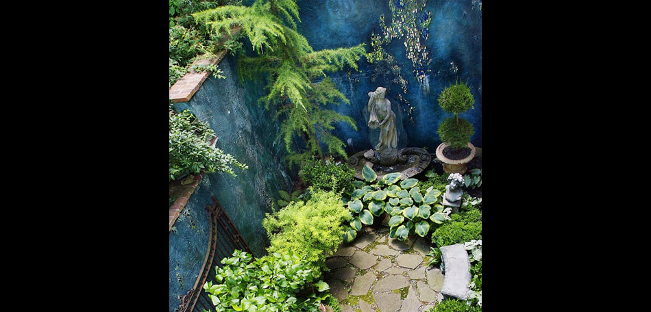 Earth Wind and Water Create a Garden Oasis