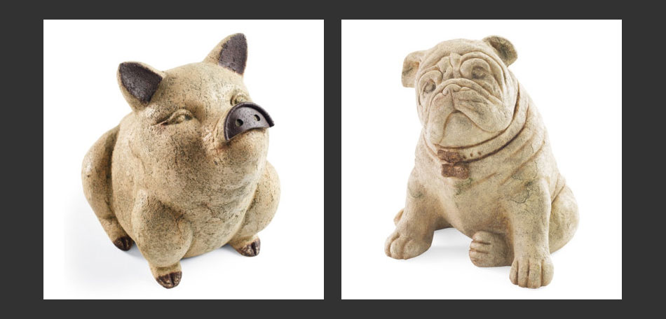 Delightful Dog, Bulldog, Gift Ideas, Patio, Garden Art, Holiday Gift Ideas,
