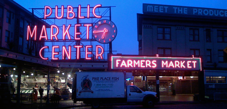 Pike Place Farmer's Market, Seattle