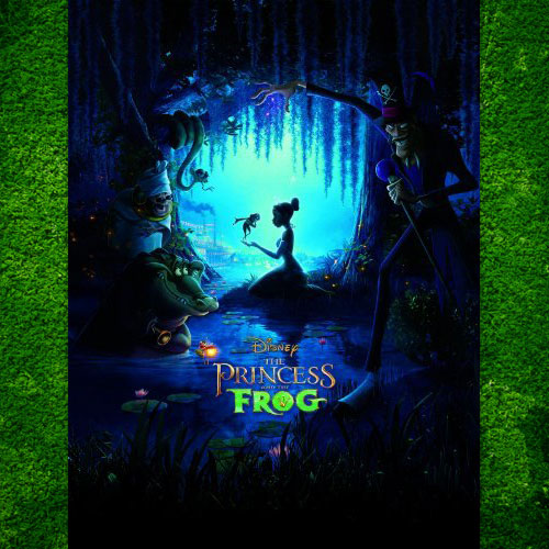 Princess and The Frog, DVD