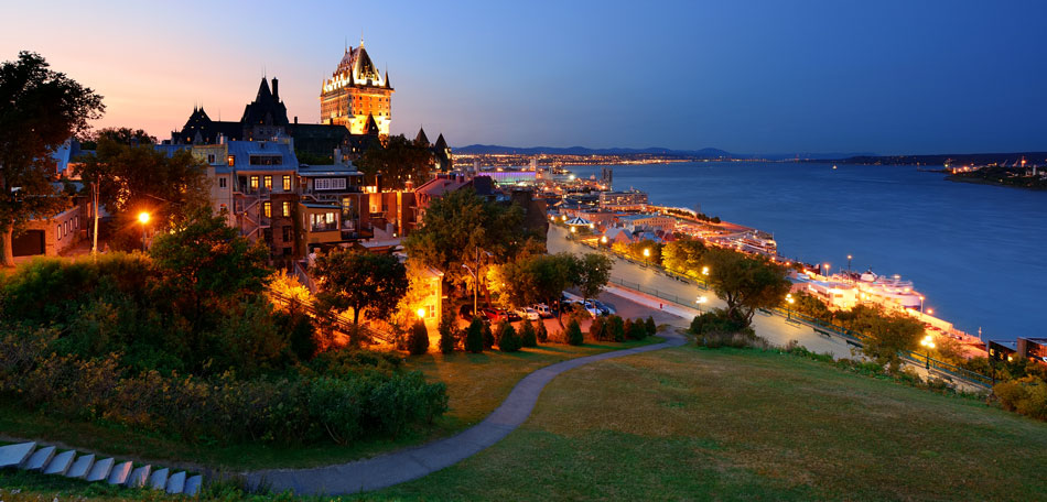10 romantic getaways for valentine s day bombay outdoors for Quebec city places to visit