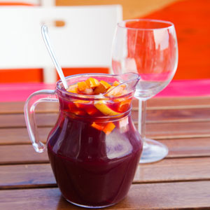 Sangria: Recipes - Backyard Sipping - Patio - Outdoors - Red