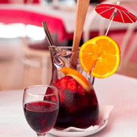Sangria: Red Sangria Recipe - Backyard Sipping - Patio - Outdoors - Red