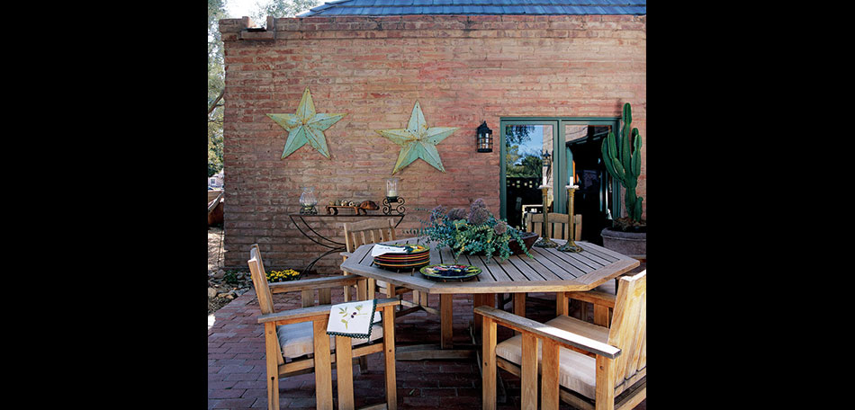 rustic patio, Phoenix, Arizona, patio design ideas