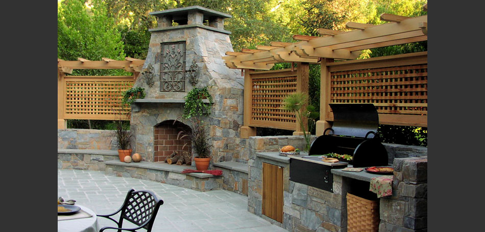 outdoor decorating ideas, 2014, outdoor kitchen, patio dining