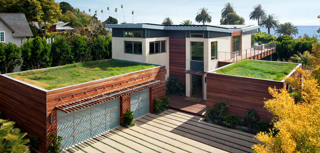 Rooftop Gardens: Ancient Idea - Modern Benefits - Rooftop Garden - Green Roof - Santa Barbara - California