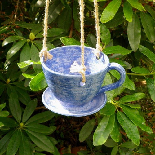 birds, bird feeders, backyard, goldfinch, handmade, tea cup, bird feeder, teacup, outdoor decor, bird watching, pine siskin, bird food, chickadees, hand made, backyard birds, birdseed, winter birds, bird feeder, birdwatching, bird feeding, feeding birds, bird table, hanging bird feeder, United Kingdom, ceramic, pottery