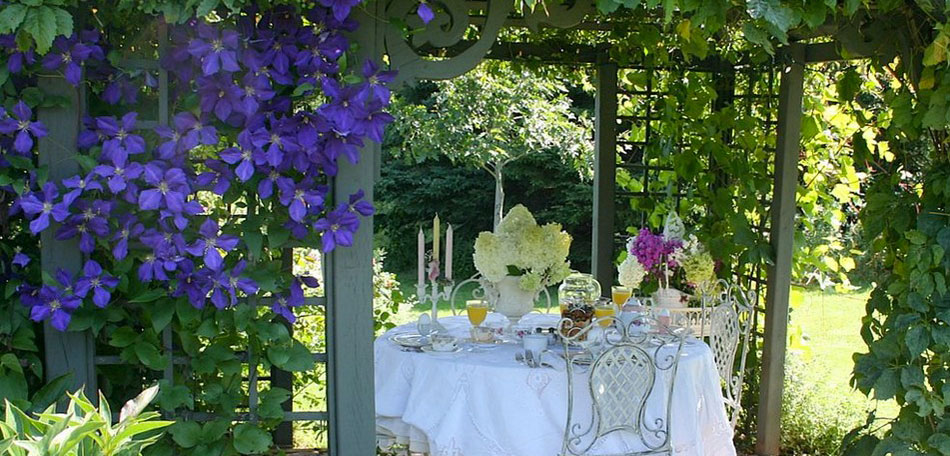 tablescape ideas, secret garden