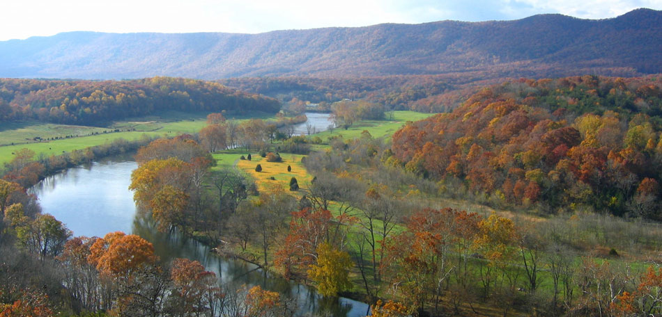 Shenandoah River State Park, Virginia, fall foliage