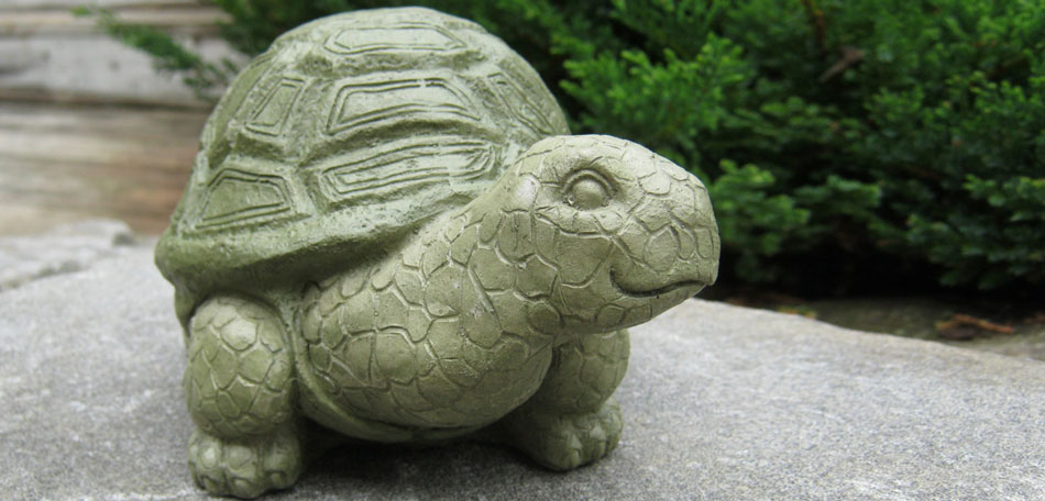 Gardening Gifts, Garden Sculpture, Patio Art, Garden Art, Turtle Sculpture,  Turtle