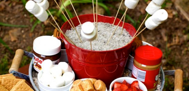 Winter Entertaining With a Smores Bar - Bombay Outdoors