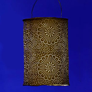 Patio Lighting: Solar Lanterns