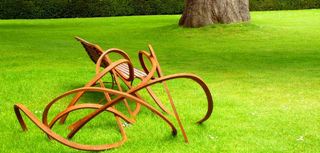 Patio Furniture Ideas: Outdoor Furniture - Garden Furniture - Design - Art - Bench - Pablo Reinoso - Spaghetti Bench - Park