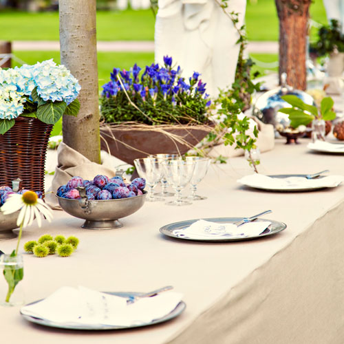 tablescape ideas, garden wedding