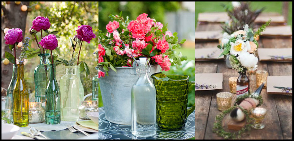 tablescape ideas, flower vases