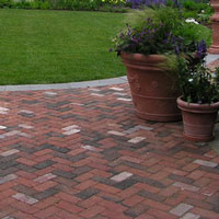 Patio Maintenance: Brick Patio - Traditional Landscape