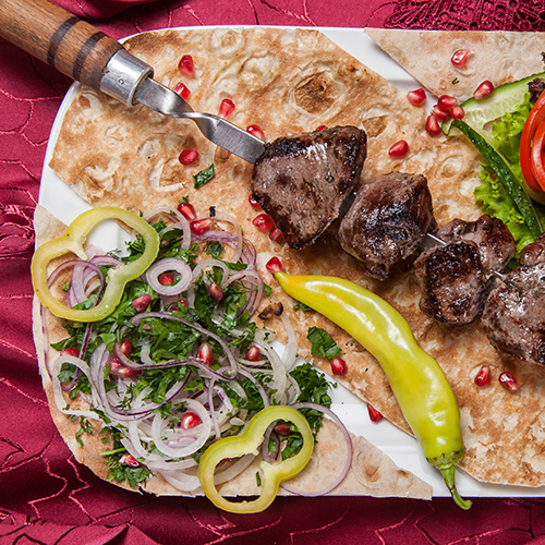 Beef Kebabs are perfect for a barbecue!