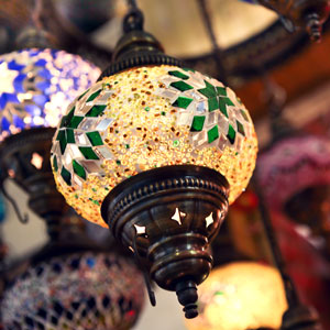 Hanging Turkish Lamp - Istanbul Grand Bazaar