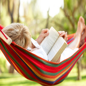 Outdoor Reading: Favorite Summer Books, Hammock, Relax, Backyard