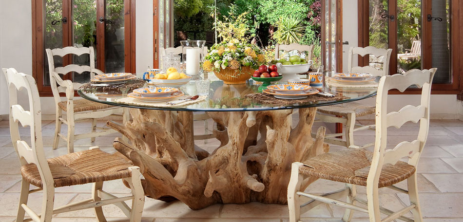 outdoor decorating ideas, 2014, dining table, exotic, dining set